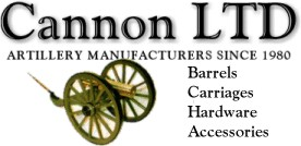 Cannon Ltd, makers of artillery barrels, carriages and accessories