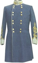 Civil War Confederate (C.S.) General Officers Frock Coat
