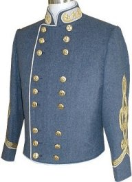Civil War C.S. General Officer's Shelljacket