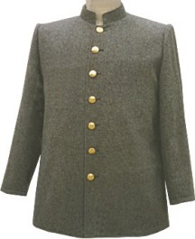Civil War C.S. Enlisted and NCO Sack Coat