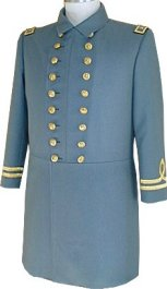 C.S. Naval Officer's Frock Coat, Lieutenant Commander