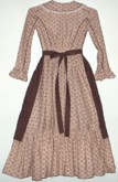 Girl's Homestead Dress with Apron. Victorian & Civil War dresses