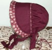 Girl's Pinafore Bonnet. Victorian & Civil War bonnets