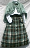 Girls Zouave Skirt