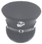 USMC M1902 Full Dress Cap for Marines, 20th Century Men's Hat