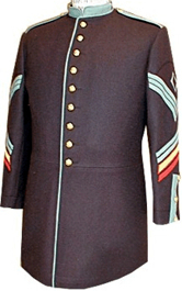 m1872 Enlisted Foot Dress Frock Infantry 1st Sergeant