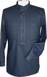 M1883 Dark Blue Wool Issue Shirt (Campaign Shirt)