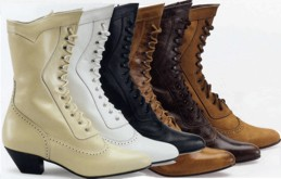 Ladies Boot / Shoe, High Lace-Up - Steeple