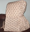 Gitls Long quilted bonnet, 19th Century (1800s) Ladies Accessories