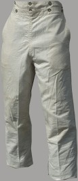 Broadfall / Drop Front Civilian Trousers / Pants
