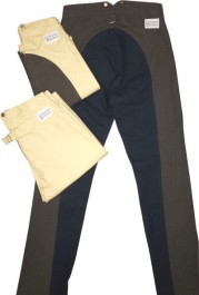 High-Back Canvas Duck Civilian Trousers / Pants