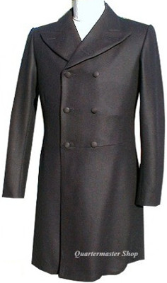 Abraham (Abe) Lincoln Frock Coat, front