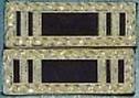 M1836 Mexican War Officers Shoulder Boards (Rank Insignia)