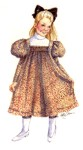 1898 Girl's Dress. By Past Patterns #, 19th Century