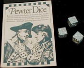 Pewter Dice