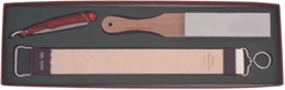 Straight Razor Set with razor, strop and stone