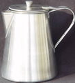 small Coffee Pot of stainless steel (1800s/19th Century)