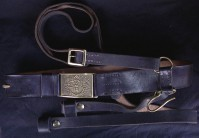 Civil War U.S. Enlisted Saber Belt