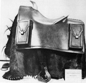 Pony Express Saddle with Mochila