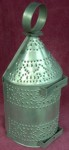 Tinware Ships Candle Lantern, Double