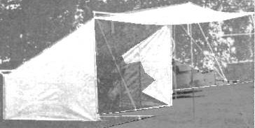 19th Century (1800s) Baker Tent, Civilian