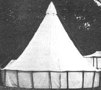 Civil War and Indian Wars Sibley Tent