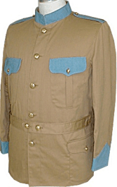 M1898 Enlisted Khaki Field Blouse, Infantry
