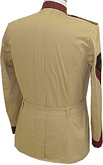 M1898 Officer's Khaki Field Blouse, Infantry - back