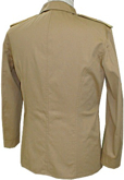 M1899 Enlisted Khaki Field Blouse, Infantry - back
