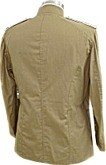 M1899 Officers Khaki Field Blouse, Infantry - back