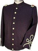 Civil War Junior Officers Shell Jacket with Sleeve Braid, American Civil War Military Uniforms