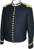 Civil War Junior Officers Shell Jacket, American Civil War Military Uniforms