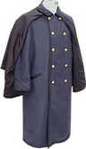 Civil War Officers Cloak Coat (Overcoat) for Captain's with buttons
