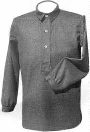 U.S. M1852 Grey Wool Flannel Overshirt, American Civil War Men's Clothing