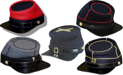 Union Army Kepi including NYSM & PA