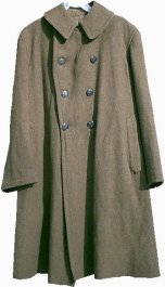 World War One Enlisted Overcoat